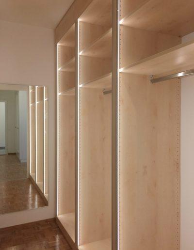 Eclairage armoire penderie